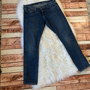 Ladies J.Crew Matchstick Jeans Size 31
